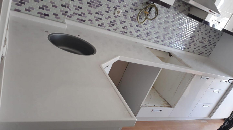 menderes mutfak tezgahı mermerleri